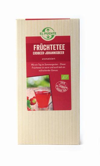 Bild von Bio Früchtetee Erdbeer-Johannisbeer