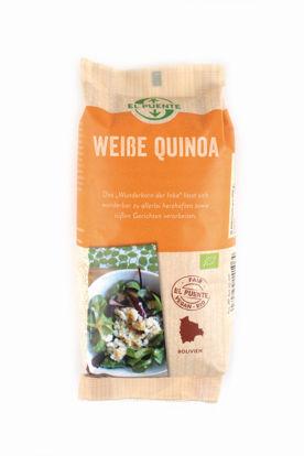 Bild von Bio-Quinoa weiß