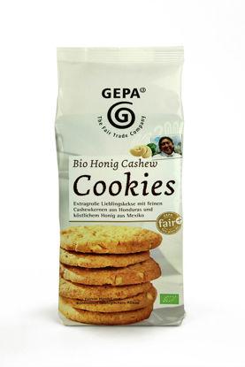Bild von Bio Honig Cashew Cookies