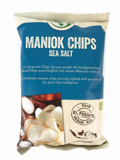 Bild von Bio Maniok Chips Sea Salt