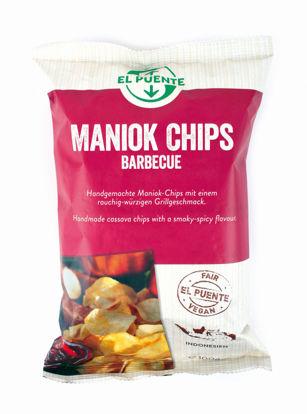 Bild von Maniok Chips Barbecue