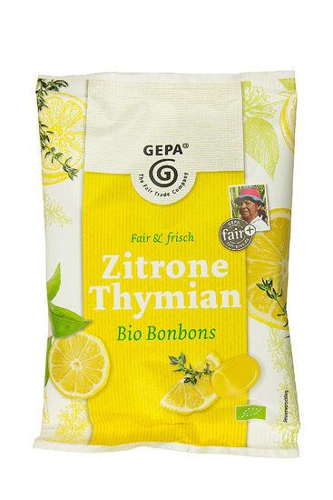 Bild von Bio Bonbons Zitrone Thymian