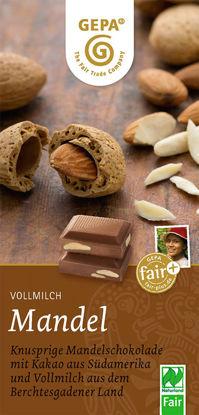 Bild von Bio Mandel Schokolade