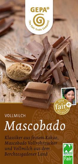 Bild von Bio Vollmilchschokolade Mascobado