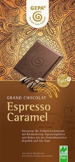 Bild von Bio Schokolade Espresso Caramel
