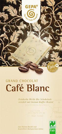 Bild von Bio Schokolade Café Blanc