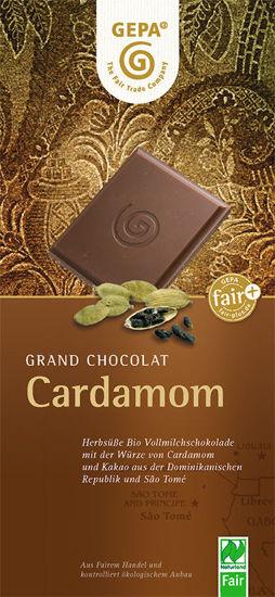 Bild von Bio Schokolade Cardamom