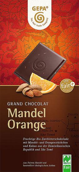 Bild von Bio Schokolade Mandel Orange