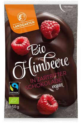 Bild von Bio Himbeere in Zartbitter-Schokolade