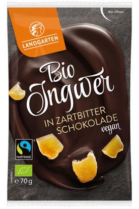 Bild von Bio Ingwer in Zartbitter-Schokolade