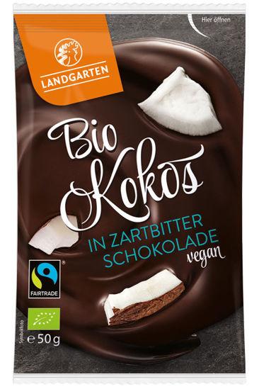 Bild von Bio Kokos in Zartbitter-Schokolade