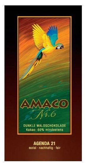 Bild von Regenwaldschokolade Amaco Nr. 6