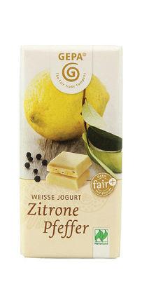 Bild von Bio Schokolade Zitrone Pfeffer