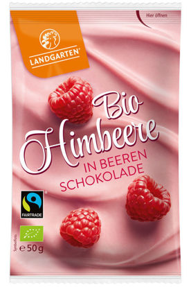 Bild von Bio Himbeere in Beeren-Schokolade