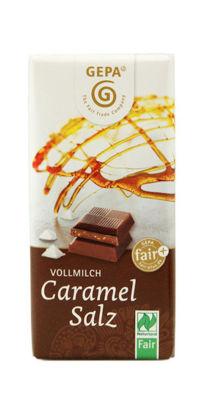 Bild von Bio Schokolade Caramel Salz