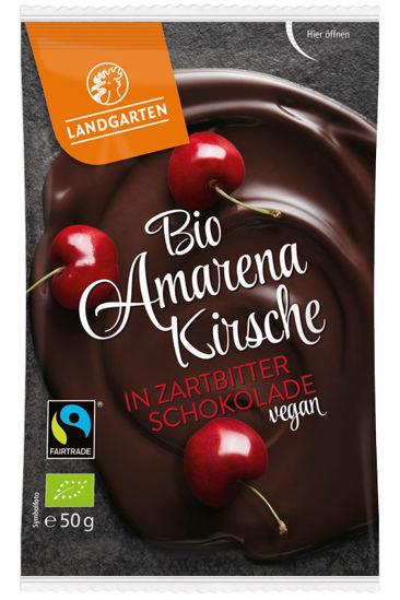 Bild von Bio Amarena Kirsche in Zartbitter-Schokolade