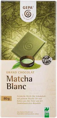 Bild von Bio Schokolade Matcha Blanc
