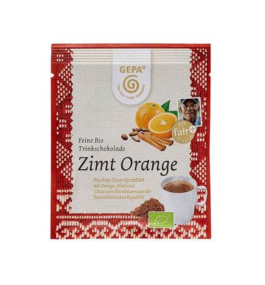 Bild von Feine Bio Trinkschokolade Zimt Orange