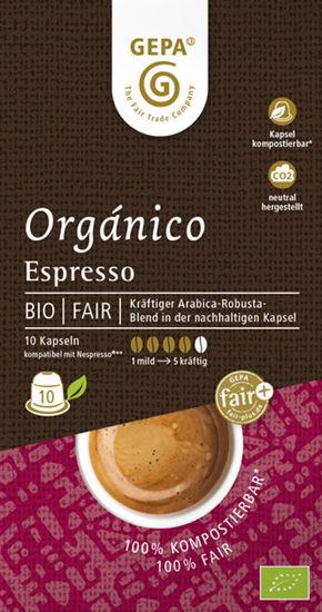 Bild von Bio Organico Espresso Kapsel