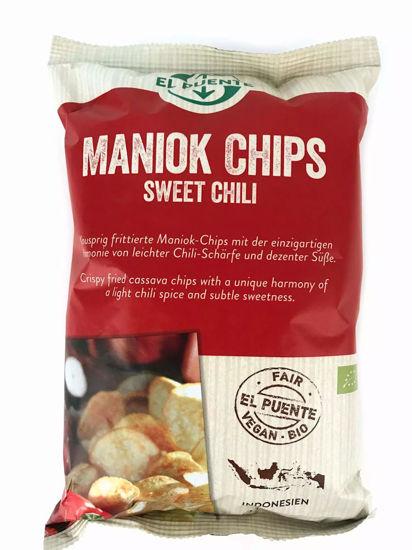 Bild von Bio Maniok Chips Sweet Chili