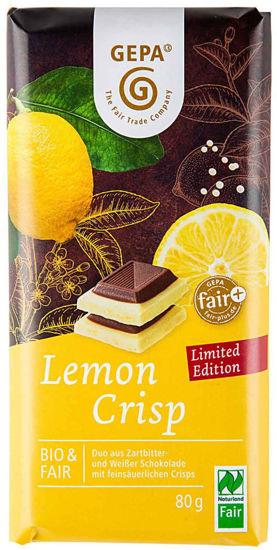 Bild von Bio Lemon Crisp Schokolade